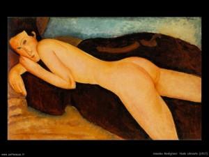 A. Modigliani - Nudo sdraiato (1917)