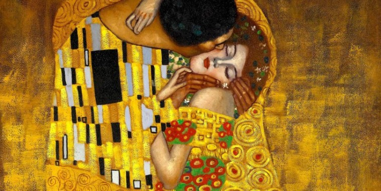 gustav-klimt-kiss-wall-mural-art-plain-810x540