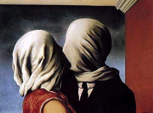 Il bacio di Magritte